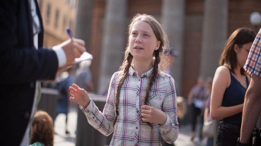 greta sciopero scuola crisi clima parlamento svedese3
