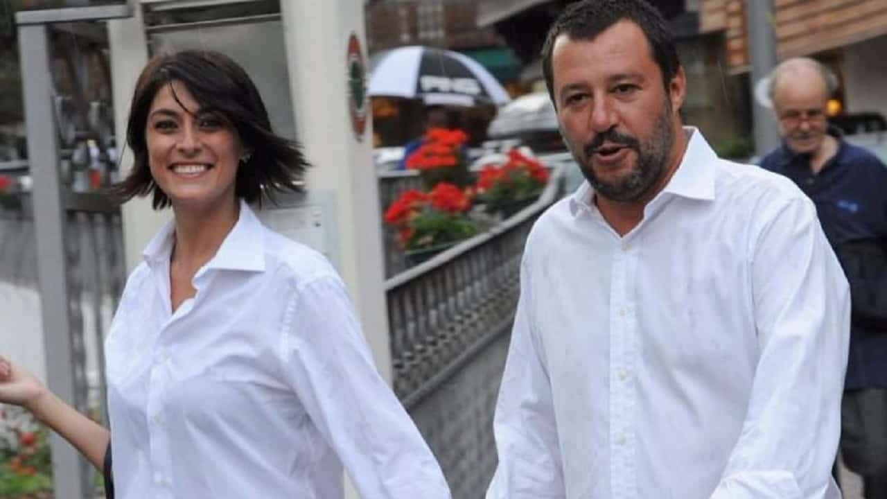Elisa Isoardi parla di Matteo Salvini