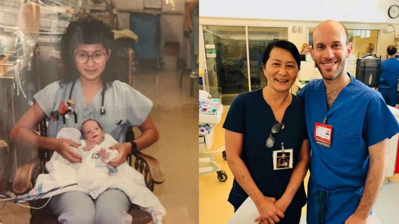 Infermiera salva la vita a bimbo prematuro: 28 anni lavorano nello stesso ospedale