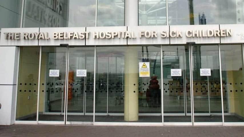 L'ospedale dove è ricoverato il piccolo