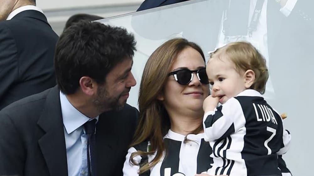 Andrea Agnelli è diventato di nuovo papà