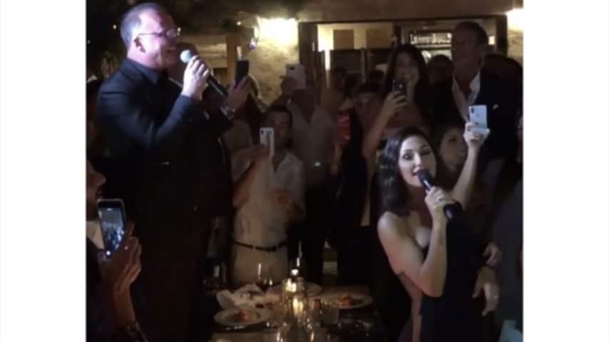 Gigi e Anna hanno cantato al matrimonio e sono parsi molto affiatati. (Foto da Instagram)