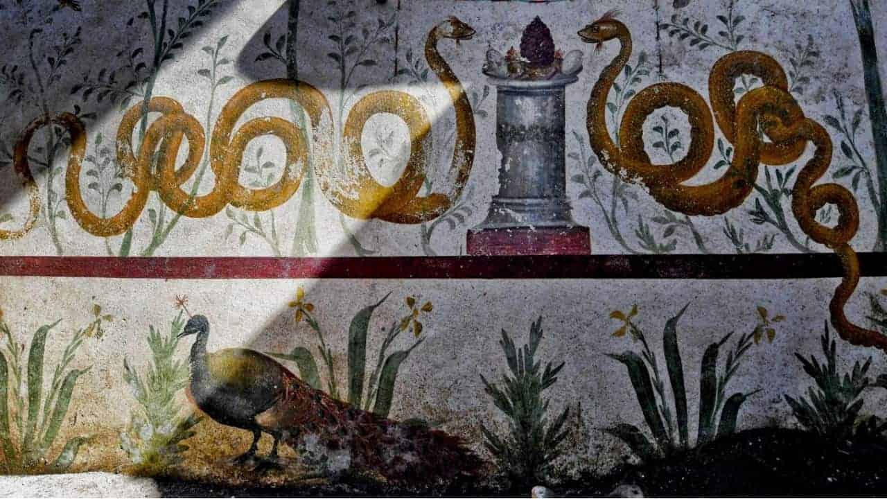 Riaffiora a Pompei la casa del giardino incantato: ecco il nuovo tesoro