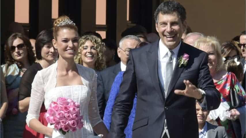 Carlotta Mantovan e Fabrizio Frizzi si erano sposati nel 2014, ma stavano insieme già da molti anni