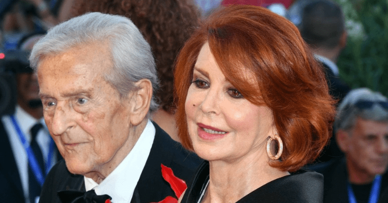 Marina Ripa di Meana e il marito Carlo