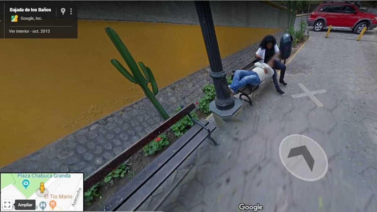 marito scopre moglie tradisce google maps peru