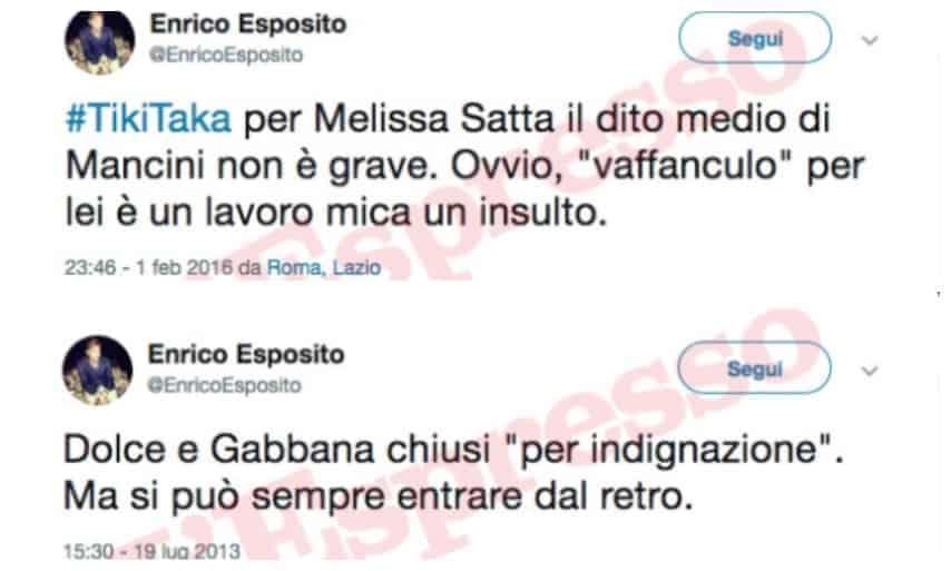 tweet esposito