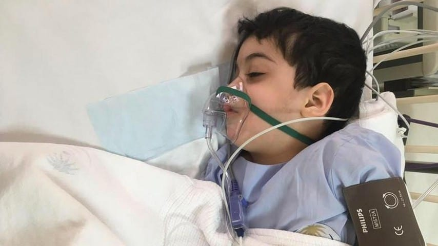 Ahmed in ospedale