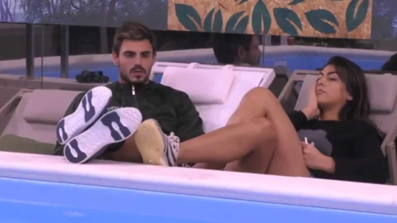 GF Vip_ Niente scintilla tra Francesco Monte e Giulia Salemi