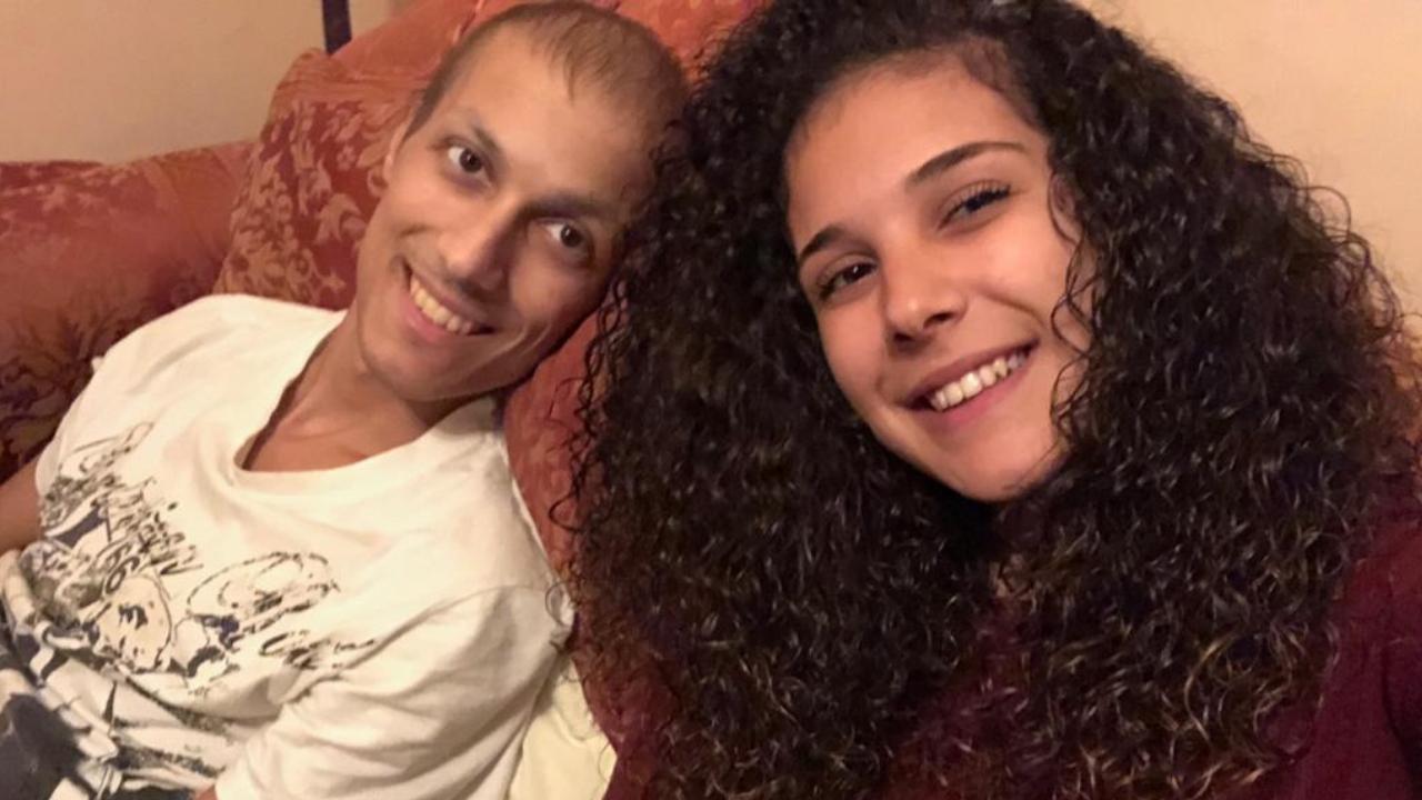 """La tenera lettera della sorella di Luca Cardillo: """"Sei il nostro guerriero"""""""