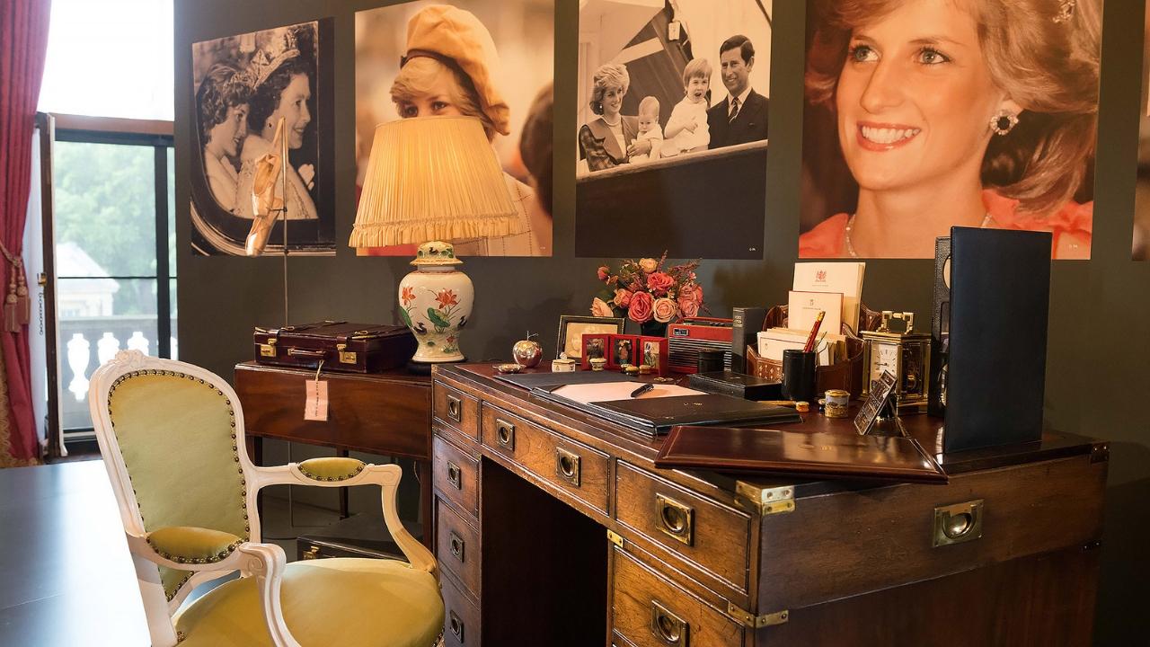 La scrivania di Lady D