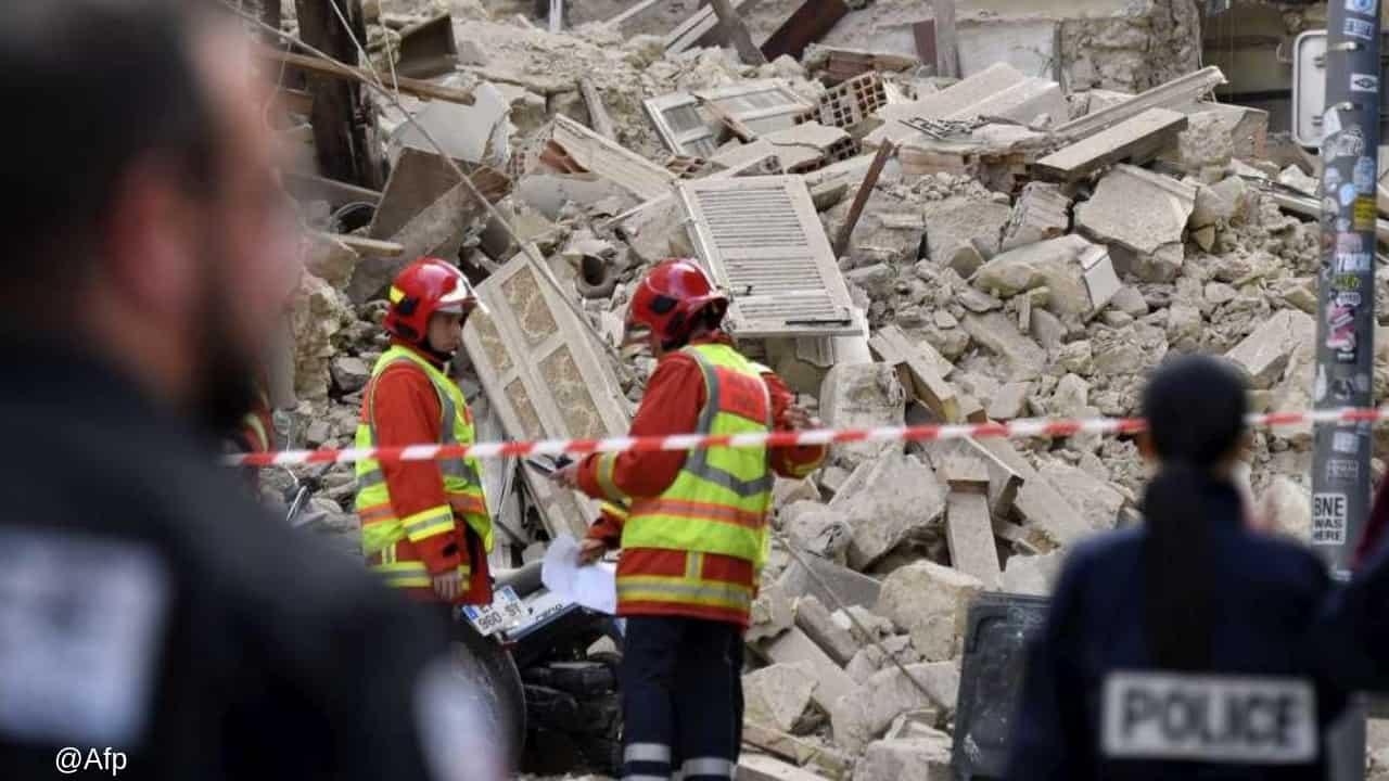 Marsiglia, nel crollo degli edifici si cerca una ragazza italiana