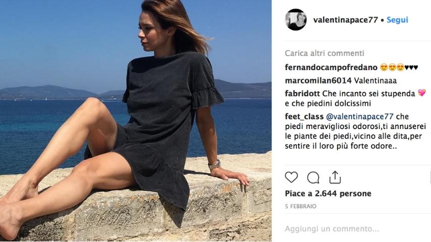 Foto Instagram di Valentina Pace