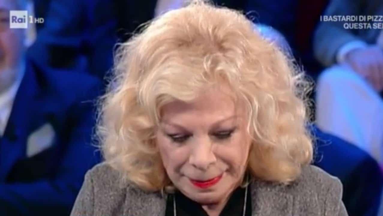 Sandra Milo abbandonata dall'ex marito: