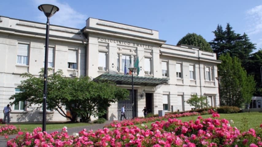 Policlinico San Matteo di Pavia, dove sono ricoverati madre e figlio. Immagine: IRCCS Fondazione Policlinico San Matteo