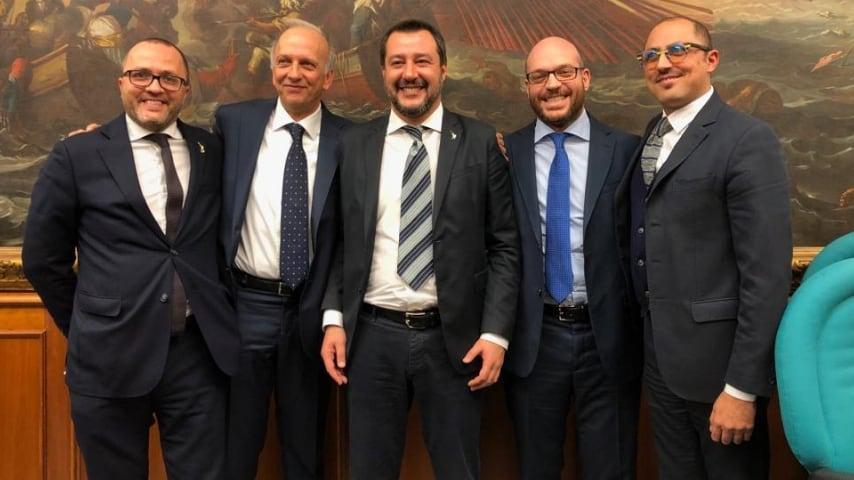 Salvini, Bussetti, Fontana,