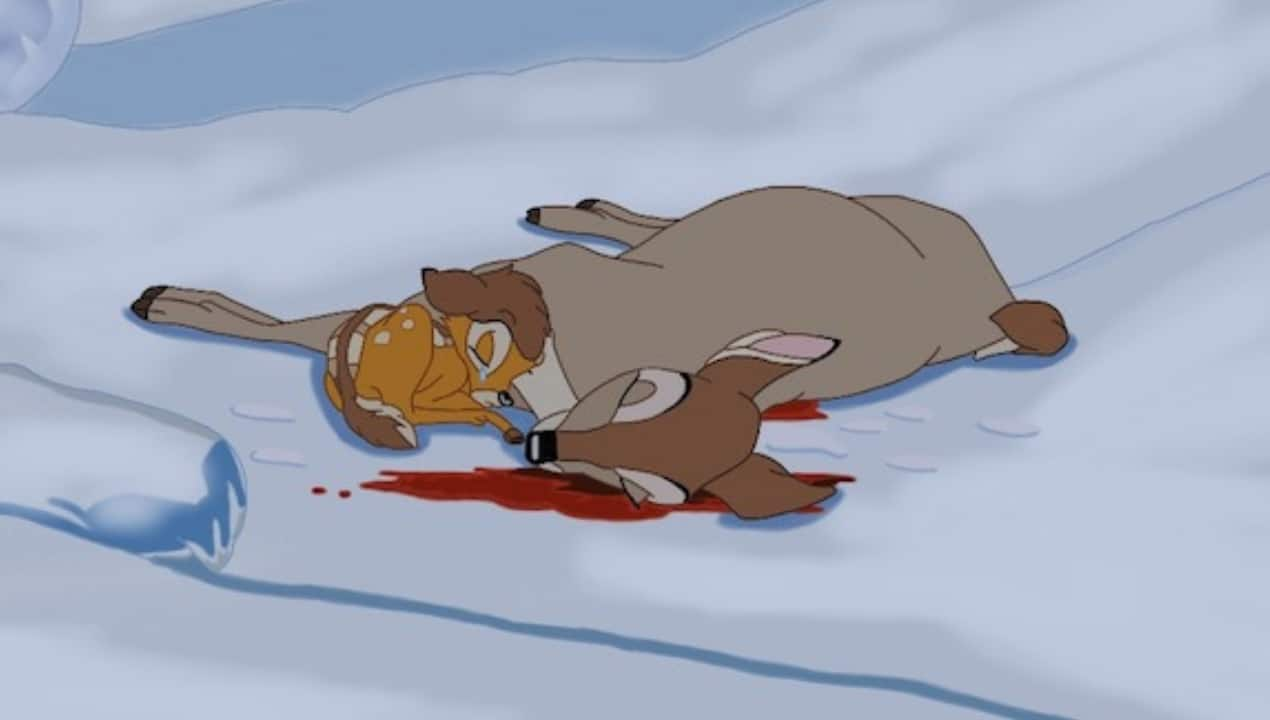 Morte Mamma di Bambi