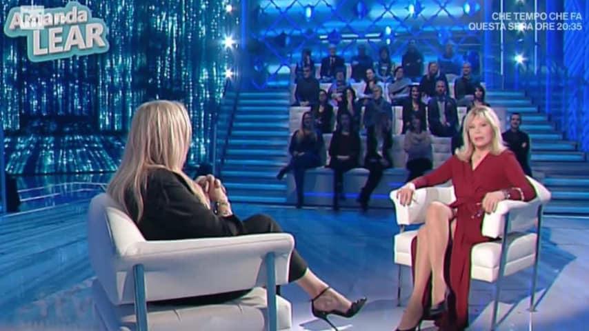Mara Venier intervista Amanda Lear