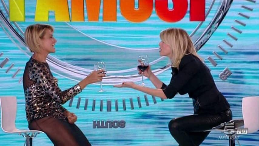 Alessia Marcuzzi e Simona Ventura all'Isola dei famosi