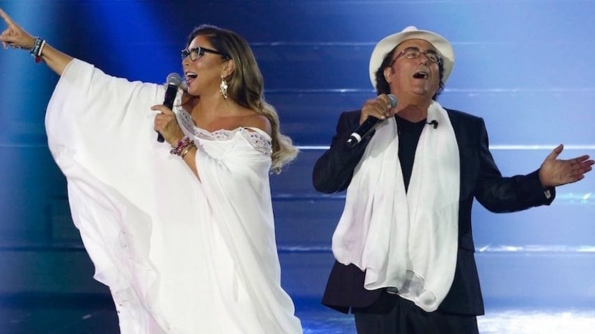Romina power canta con Al Bano
