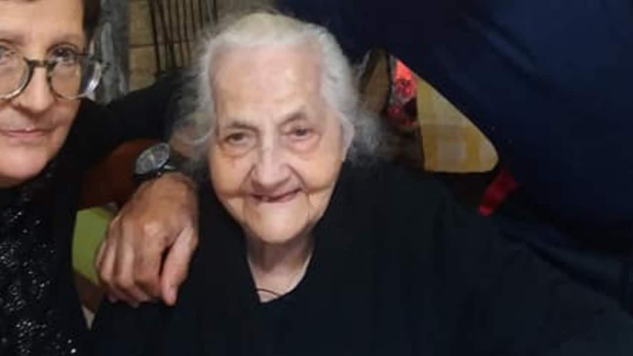 maria Aresti compie 107 anni