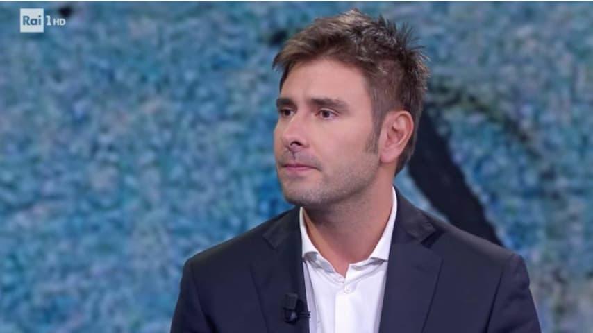 Alessandro Di Battista ospite di Fabio Fazio. Immagine: Che tempo che fa/Facebook