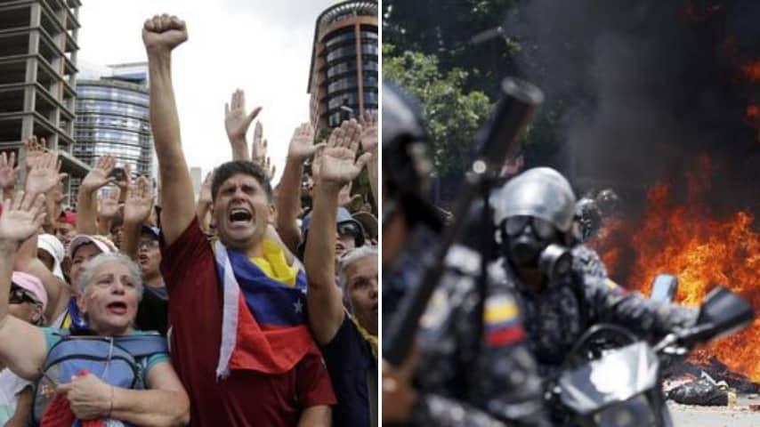 Continuano le proteste in Venezuela