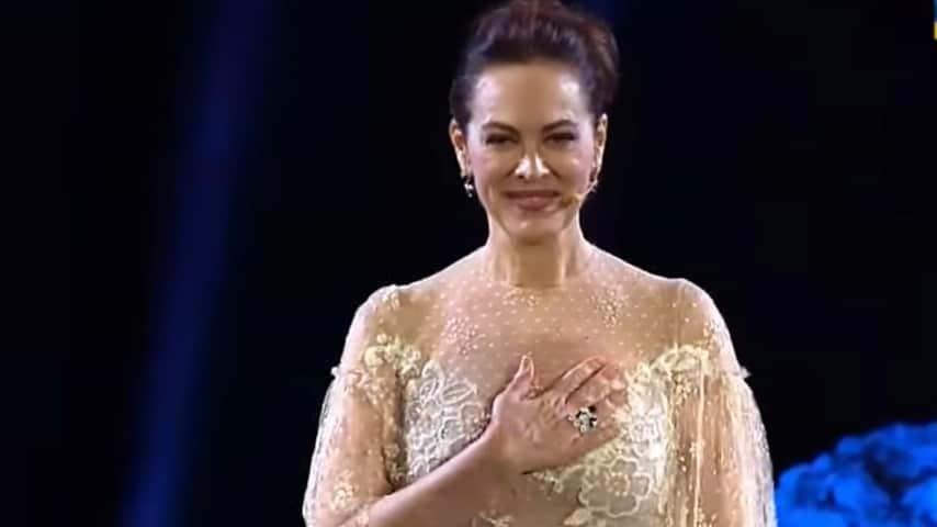 Elena Sofia Ricci riceve il Nastro d'Argento