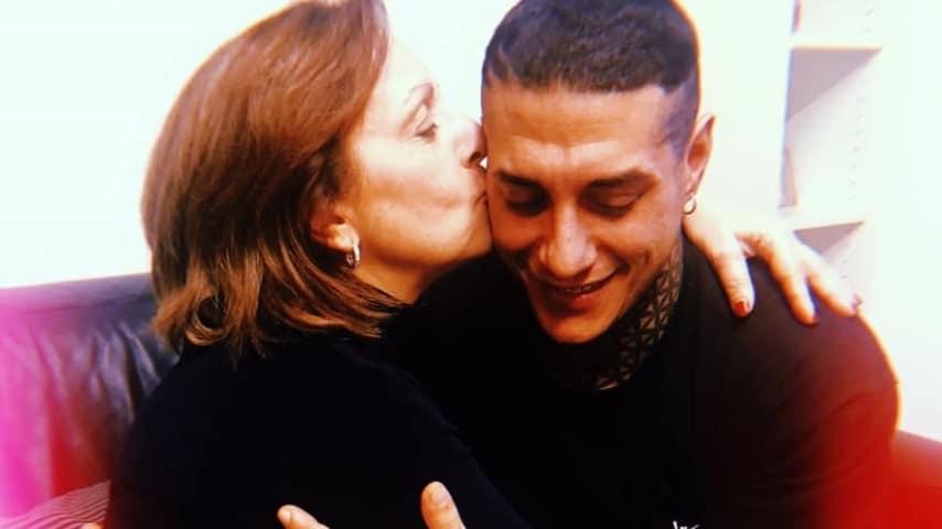 Francesco Chiofalo con la madre