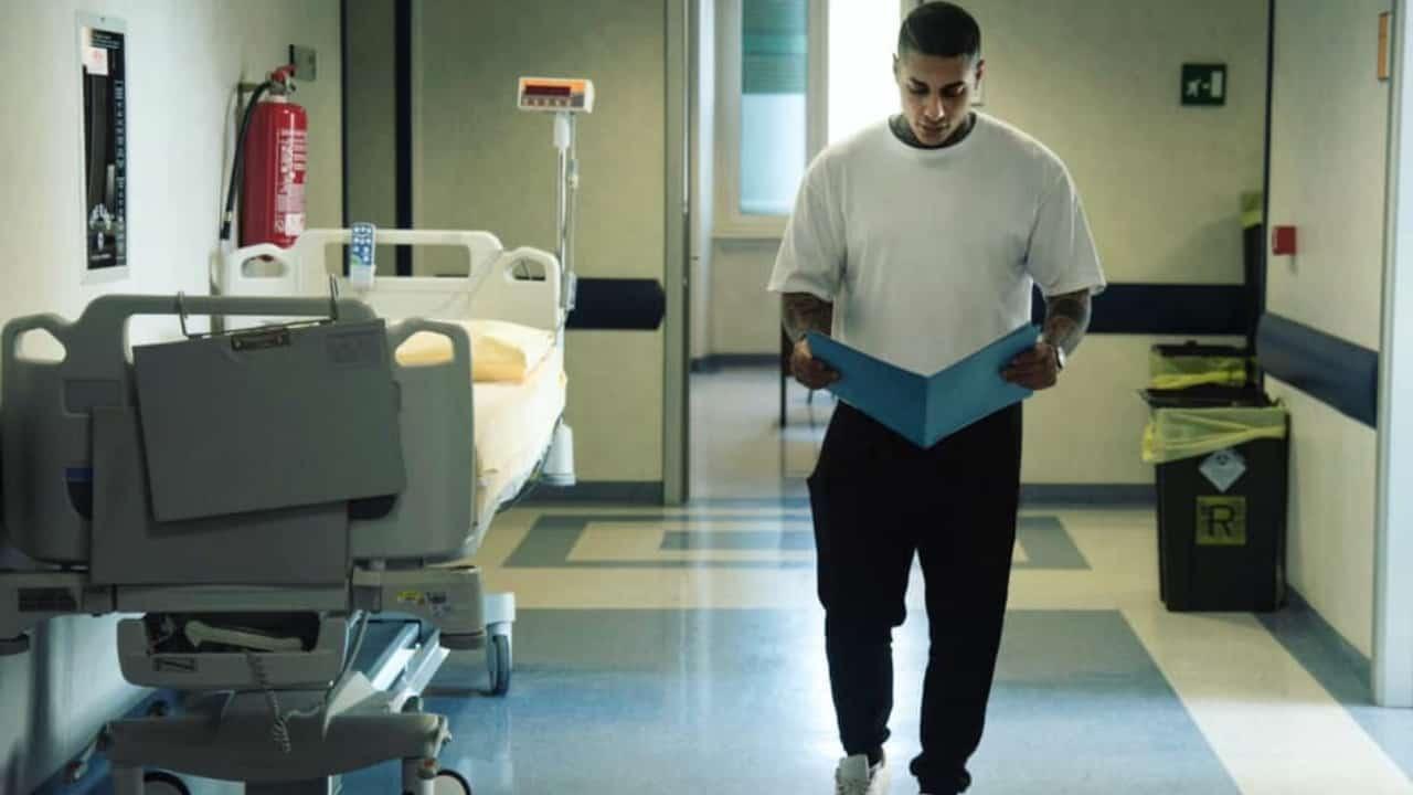 Francesco Chiofalo in ospedale