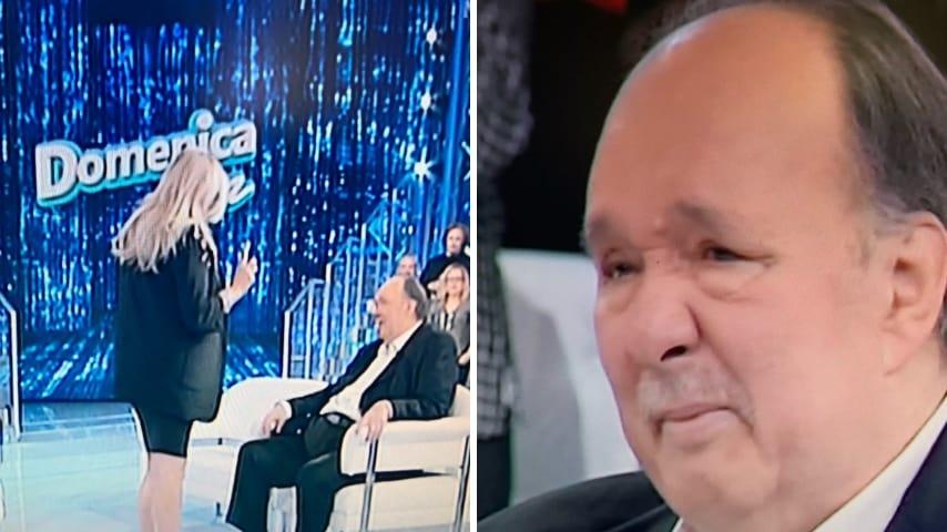 Giampiero Galeazzi torna a Domenica In
