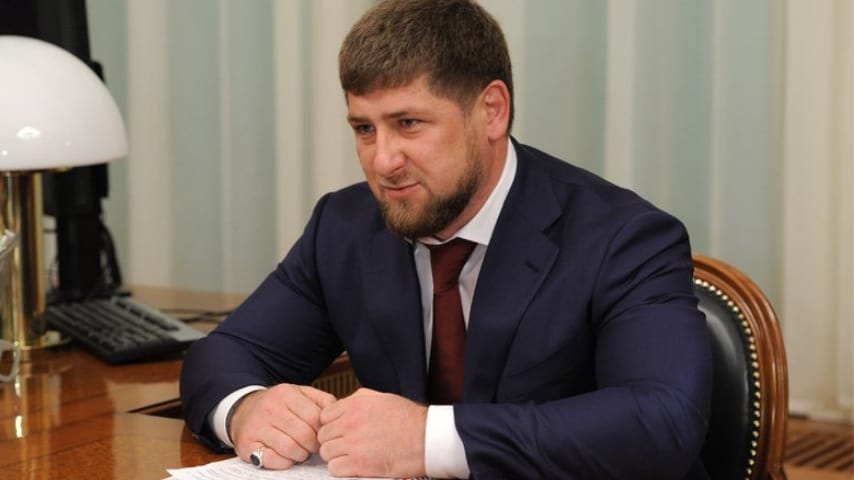 Il leader paramilitare ceceno Ramzan Kadyrov