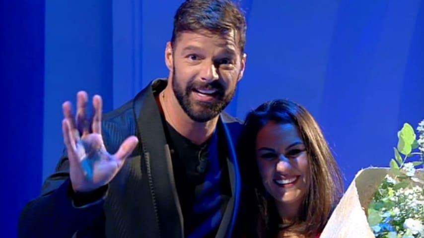 Jessica e Ricky Martin a C'è posta per te