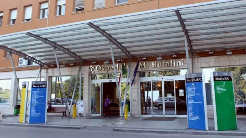 L'Ospedale Maurizio Bufalini di Cesena dove è deceduto il bimbo di 3 anni. Immagine: Google Maps