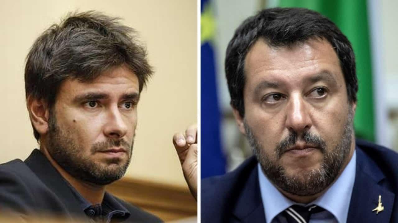 La provocazione di Di Battista a Matteo Salvini
