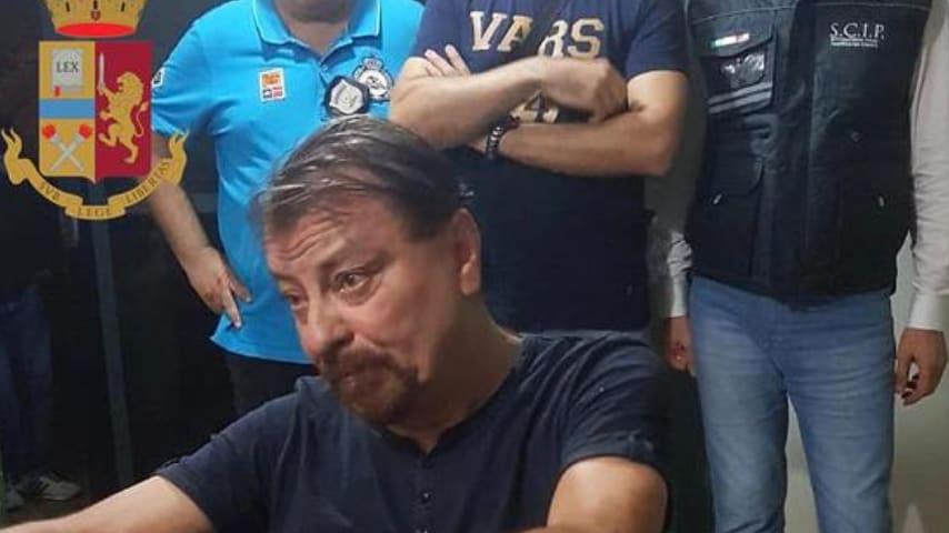 L'arresto di Cesare Battisti. Credits Ansa