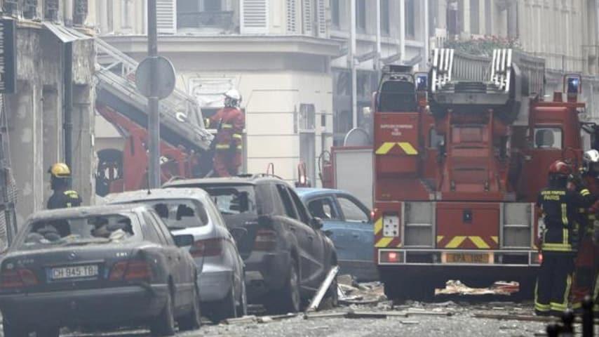Le immagini successive alla terribile esplosione. Credits ANSA