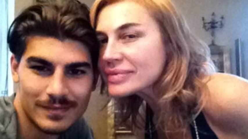 Lory Del Santo con il fidanzato Marco Cucolo
