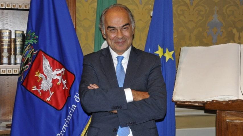 Luciano Bacchetta, sindaco di Città di Castello, ha lodato l'onestà di Lorenzo Renghi (Foto ANSA)