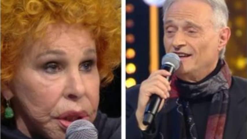 Lo scontro tra Ornella Vanoni e Amedeo Minghi a Ora o mai più