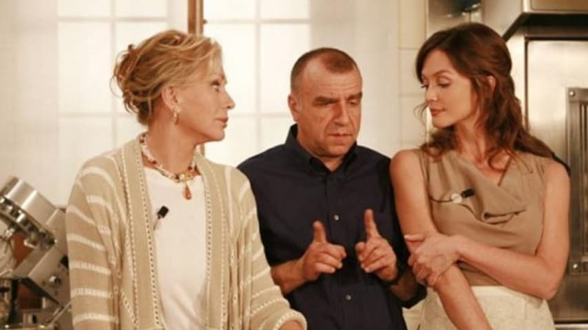 Francesca Cavallin in una puntata di Un medico in Famiglia 8