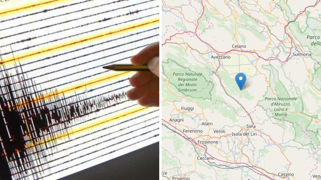 Una nuova scossa di terremoto jpg