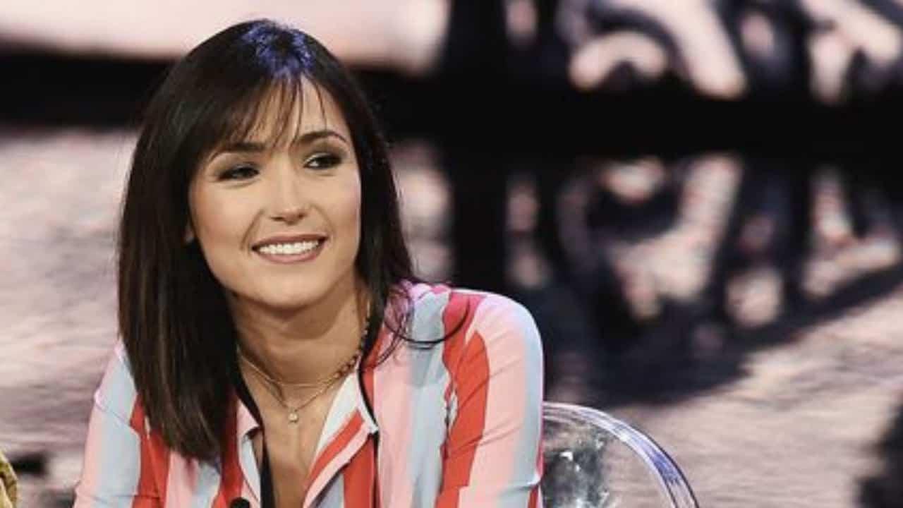 Caterina Balivo, durante il programma Vieni da me