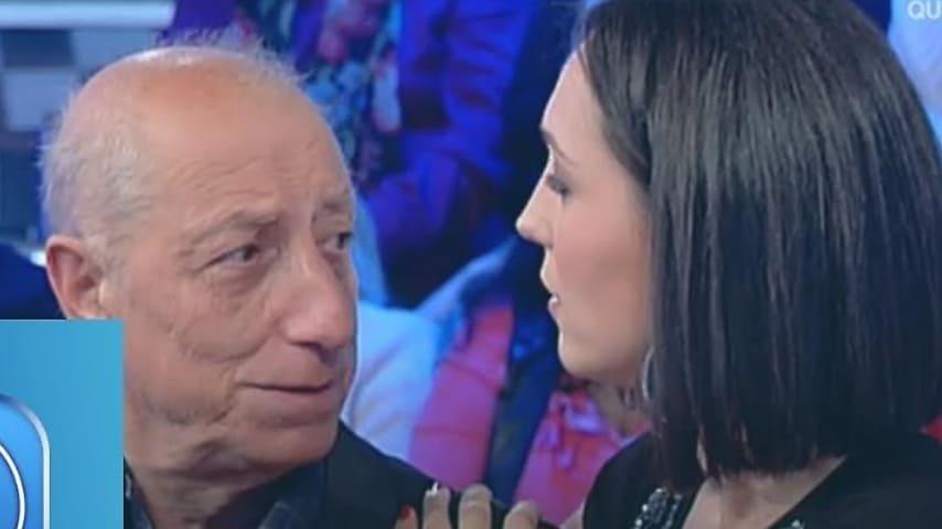 Pippo Franco e Caterina Balivo