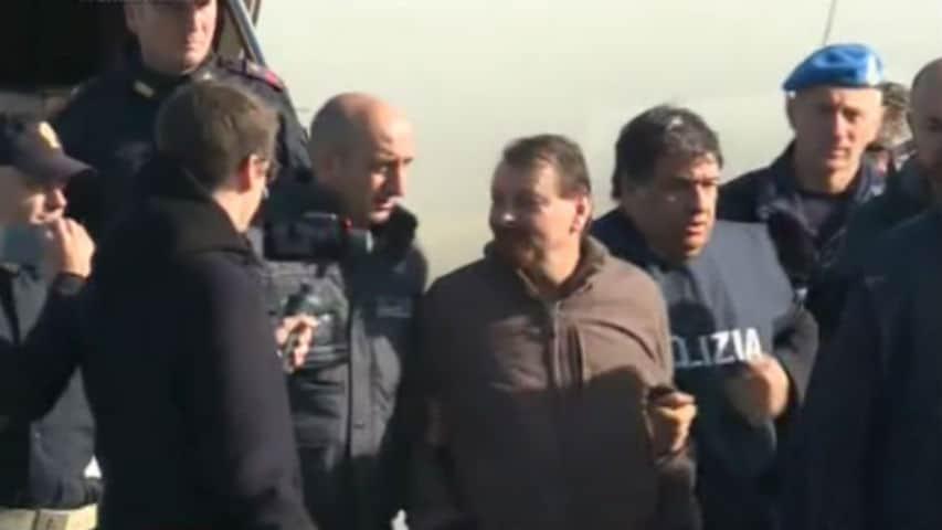 Cesare Battisti arriva in Italia: per lui isolamento a Rebibbia
