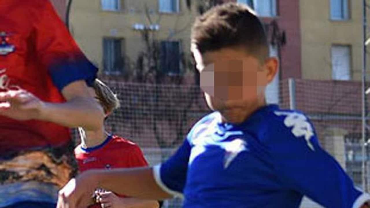 Cristian Fernandez calciatore 12 anni