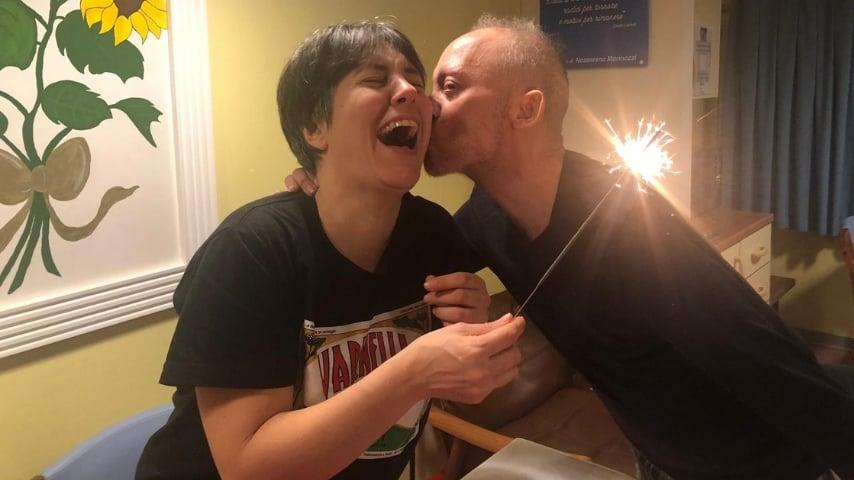 Diego e Annalisa: sposi prima della morte