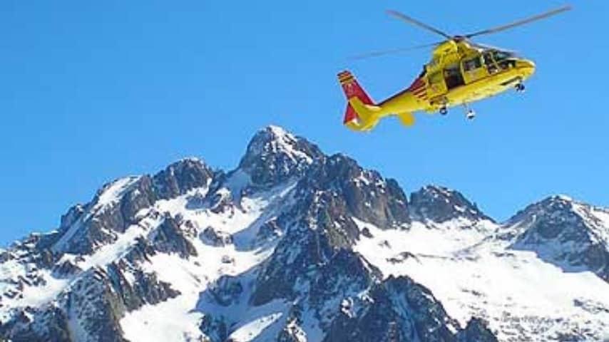 La bimba ferita nell'incidente di Sappada è stata trasportata in ospedale in elicottero