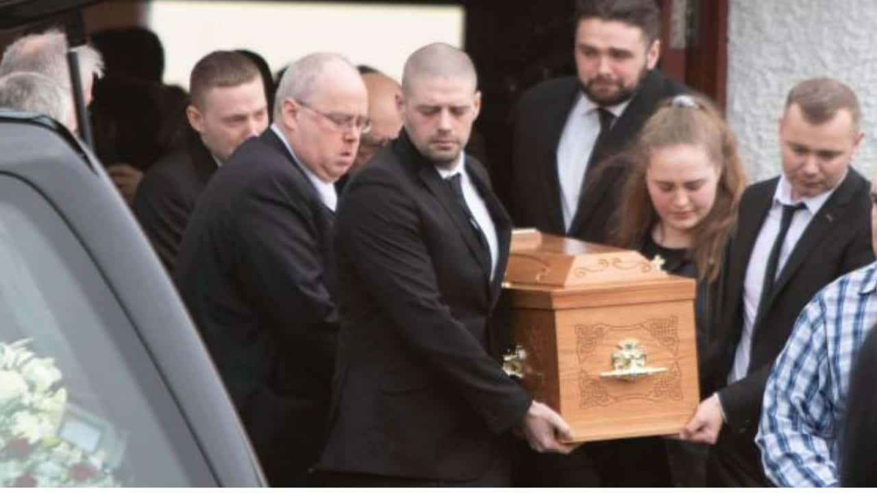 I funerali di Dawn Croke.