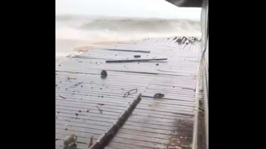 La tempesta tropicale Pabuk sta devatsando al Thailandia